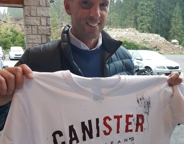 Aj Richard Lintner podporuje značku CANISTER